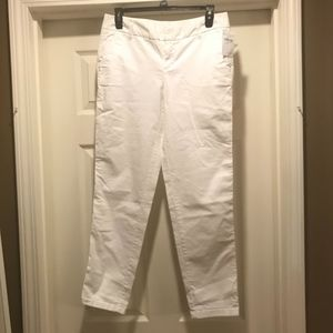 NWT Caslon Cropped Chinos